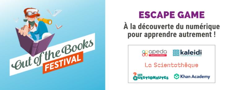 Invitation : Escape Game à la découverte du numérique
